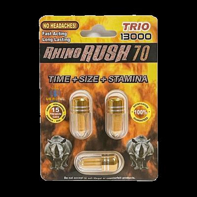 Rhino Rush 70 Trio 13000 Pill